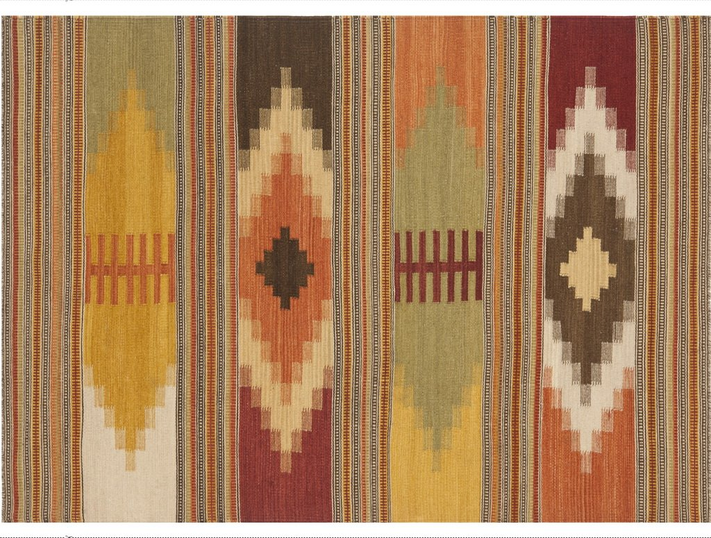 Vilber Bohemian Bohemian Bohemian Kilim 2576 Teppich, Vinyl, Mehrfarbig, 100 x 153 x 0.2 cm c3a3f8