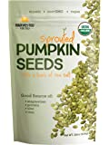 Harvested For You Sprouted Pumpkin Seeds with Sea Salt 22oz Bag, Non GMO, Keto Snacks, Paleo, Gluten Free, Vegan…