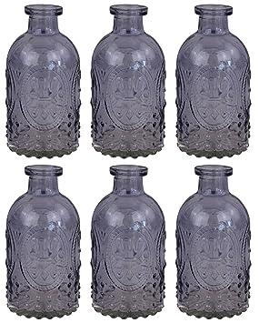 Botella Decoración Botella De Vidrio Decoración Farmacia Botella Botella De Licor Vidrio De Boticario Vidrio Vintage - Green, 3 piezas: Amazon.es: Hogar