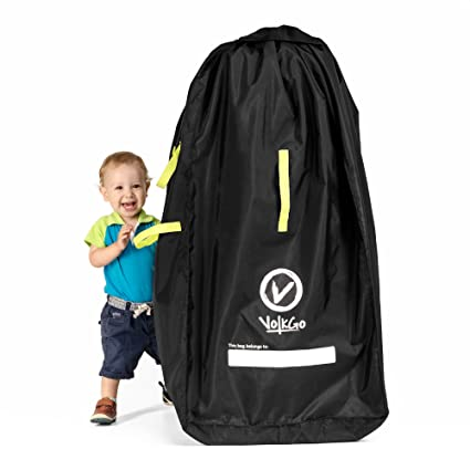 Water-Resistant Durable and Lightweight Stroller Travel Bag for Airplane for Single Umbrella Strollers Fits Car Seats Infant Carriers /& Booster Gate Check Stroller Bag with Adjustable Lock