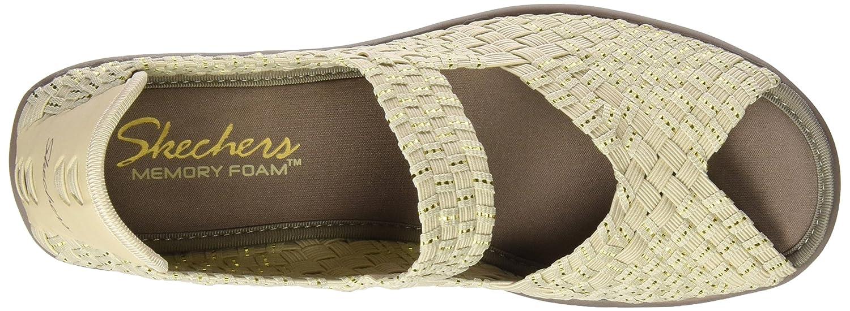 Skechers Cali Sandale Compensée En Parallèle Féminin 060CPcZ