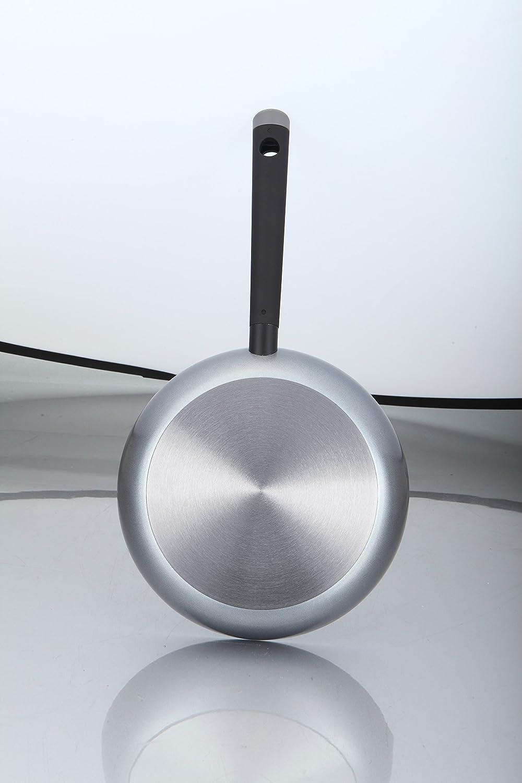 Oroley 299060300 Sarten induccion aluminio prensado Ecosilver 22 cm: Amazon.es: Hogar