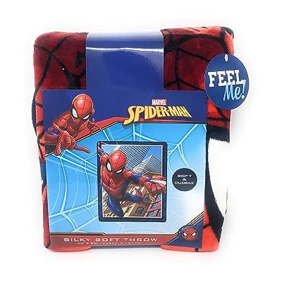 Marvel Spider-Man Silky Soft Throw-40 X 50 inches: Home & Kitchen
