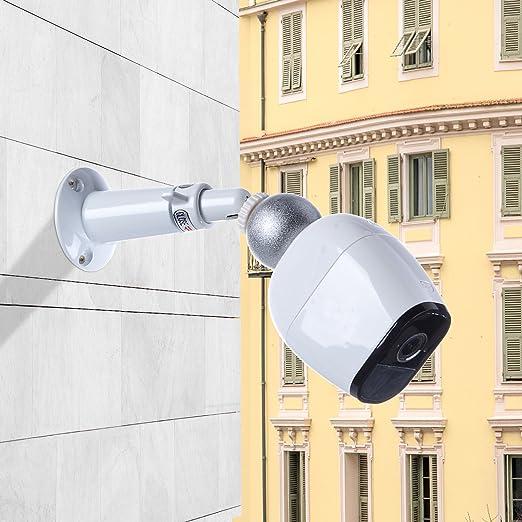 SupTig pantalla plana soporte de montaje ajustable pantalla plana al aire libre interior para Arlo - Arlo cámara Arlo Go Arlo Pro 2 (2 unidades de color ...