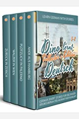 Learn German with Stories: Dino lernt Deutsch Collector's Edition - German Short Stories for Beginners: Explore European Cities and Boost Your Vocabulary (German Edition) Kindle Edition