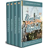 Learn German with Stories: Dino lernt Deutsch Collector's Edition - German Short Stories for Beginners: Explore European Citi