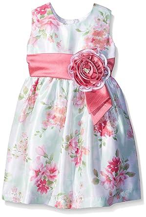 e6afdc7471c Amazon.com  Jayne Copeland Girls  Floral Print Shante Dress  Clothing