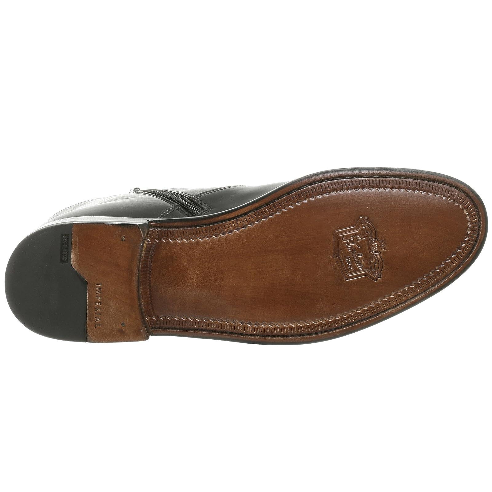 Florsheim Men's Hugo Boot 18570 Black Milled Leather - 3
