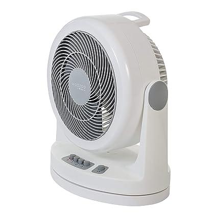 12H Voreinstellung /&Timer-Einstellfunktion Tischventilator FOCHEA Kraftvoller Turbo Ventilator//Luftzirkulationsventilator mit Fernbedienung Horizontal Vertikal Oszillierend 3-Stufig einstellbar