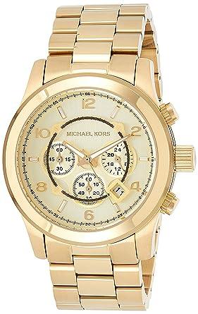 Michael Kors Reloj Cronógrafo para Hombre de Cuarzo con Correa en ...