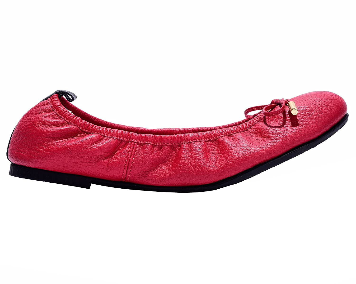 VIDALeather Daily Women Ballerina Colombian Leather Mujer Flats   Zapatillas de Mujer Leather B01K3BT52O 9 B(M) US Red a6fe7b