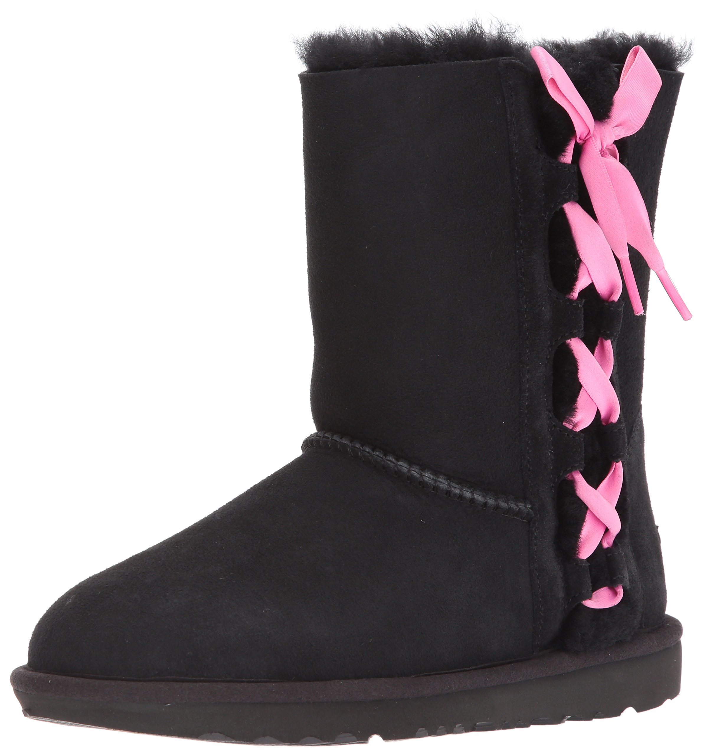 UGG Girls K Pala Pull-on Boot, Black, 4 M US Big Kid