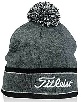 d60866c7798 Image Unavailable. Image not available for. Colour  TITLEIST Golf Pom Pom Winter  Beanie Stocking Hat ...