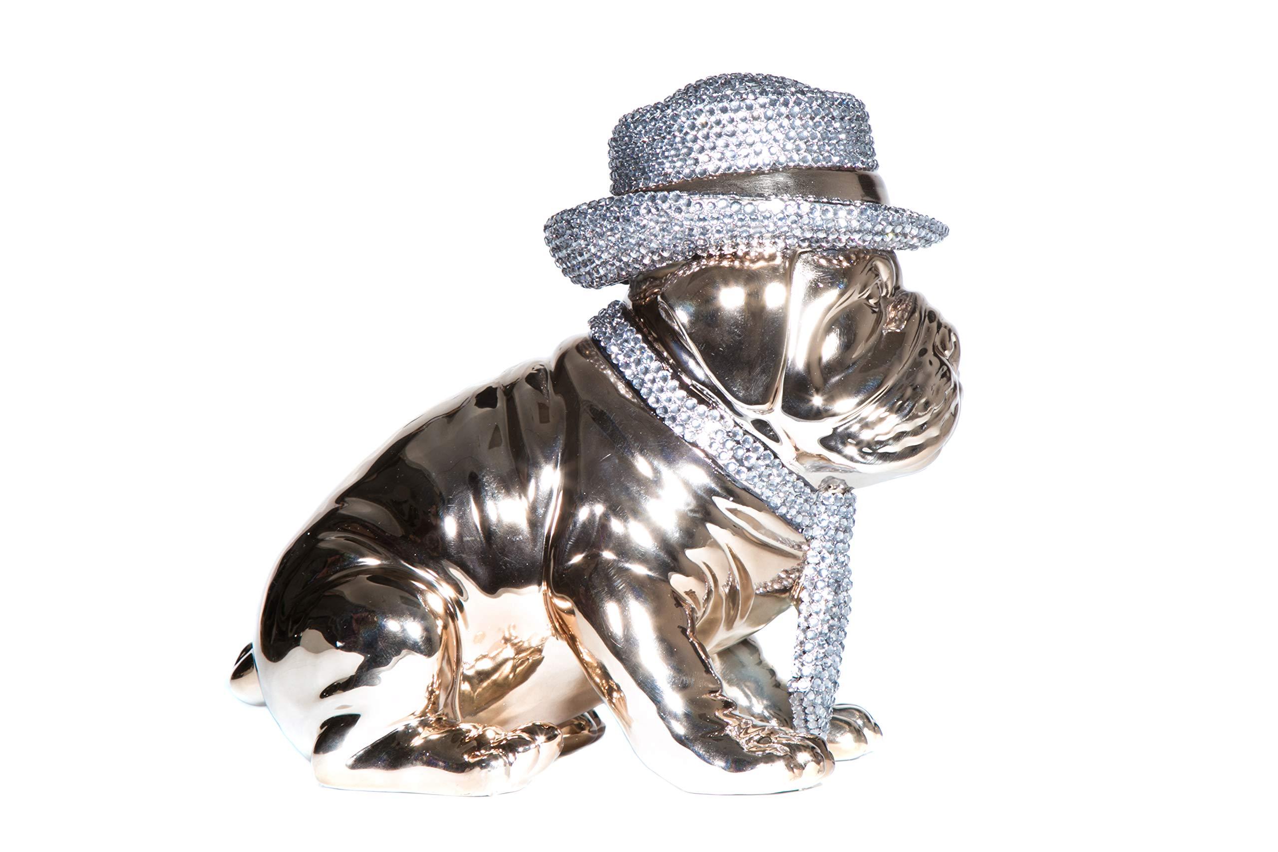 Interior Illusions Plus ii000345 Doggy Bank Rhinestone Hat, White by Interior Illusions Plus (Image #2)