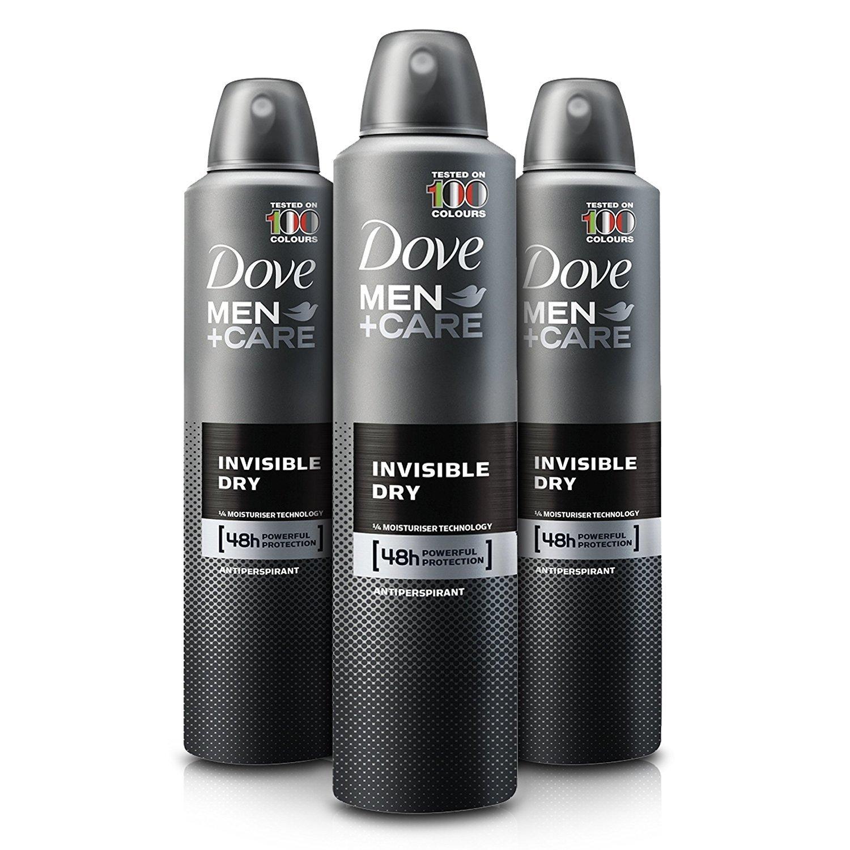 Dove Men Care Invisible Dry Spray Deodorant (3.8 oz, 3 pk.) Unilever