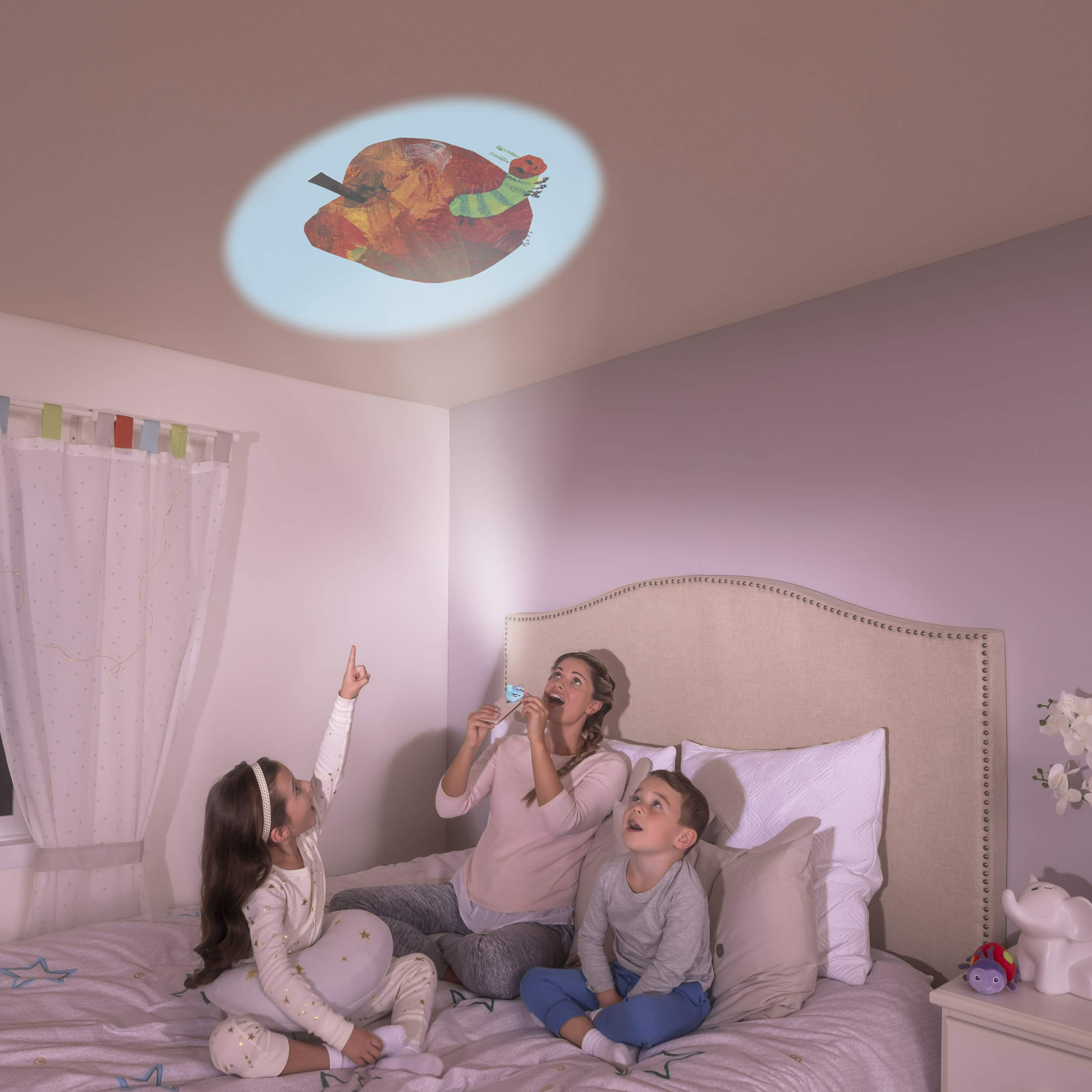 Moonlite - Eric Carle Junior Starter Pack, Storybook Projector for Smartphones with 2 Story Reels, For Ages 1 and Up by Moonlite (Image #2)