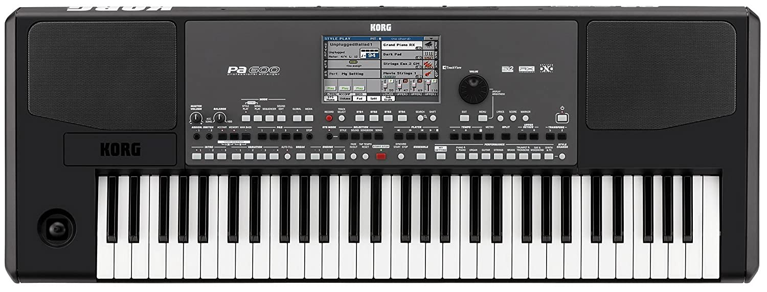 Korg PA300 61 - Key Arranger Color TouchView Display Korg USA Inc.