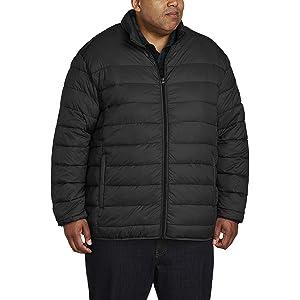 611df2cc9ddca Amazon Essentials Men's Big & Tall Lightweight Water-Resistant Packable  Puffer Jacket fit ...