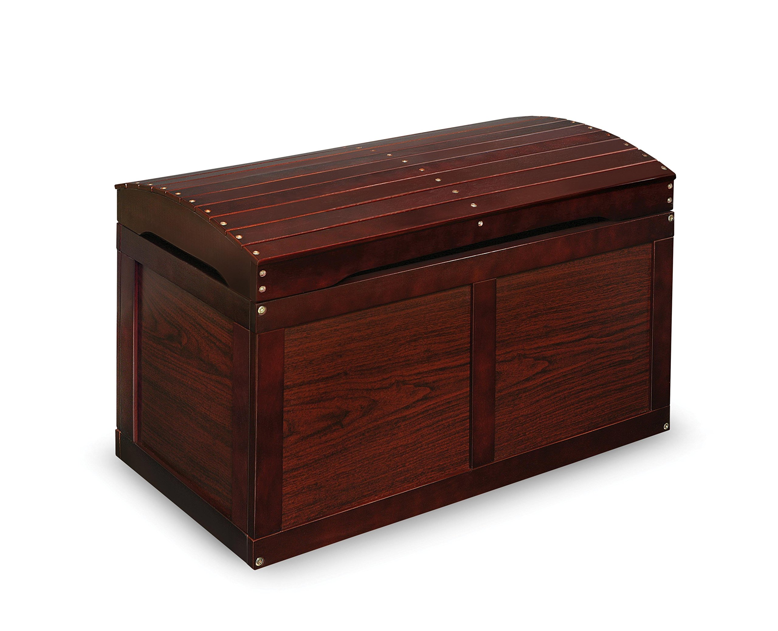 Barrel-Top Toy Chest - Cherry