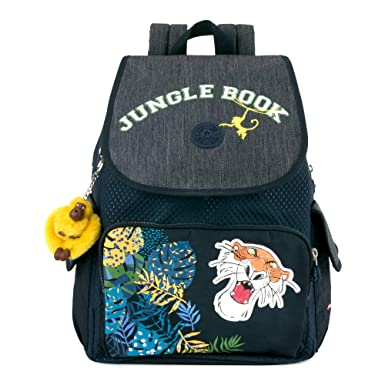 Amazon.com: Kipling Disneys Jungle Book City Pack Medium Backpack Into The Jungle: Clothing