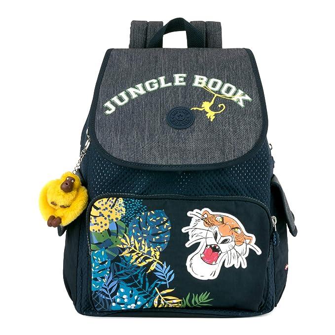 Amazon.com: Kipling Disneys Jungle Book City Pack Medium Backpack Into The Jungle: Clothing