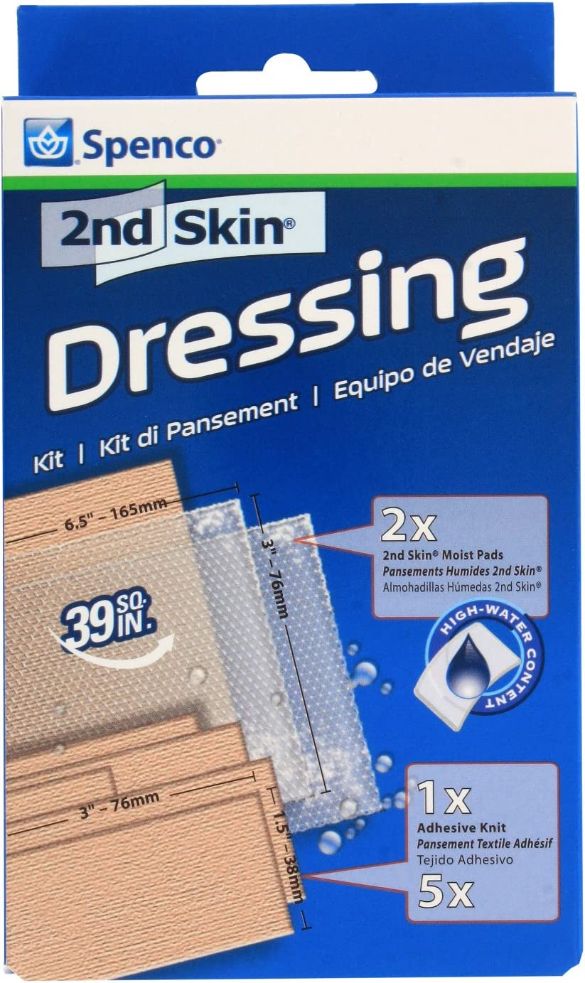 Spenco 2nd Skin Dressing Kit Bandages for Blister Protection, Sports, 8-Count: Health & Personal Care