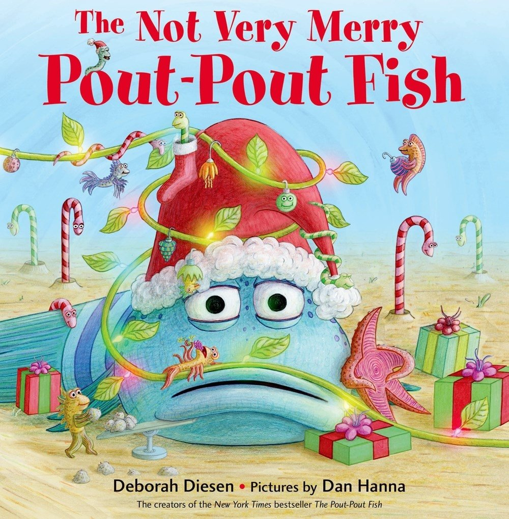 Image result for The Not Very Merry Pout-Pout Fish