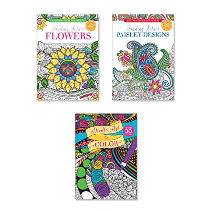 Amazon Com Adult Coloring Books Set Of Coloring Books Many