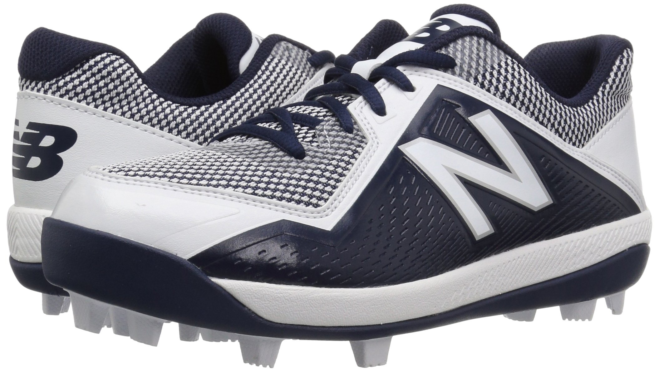 New Balance Boys' 4040v4, Navy/White, 1 W US Little Kid by New Balance (Image #6)