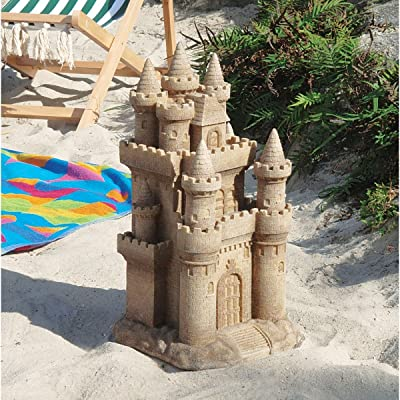 Design Toscano Castle by the Sea Sculpture : Outdoor Statues : Garden & Outdoor