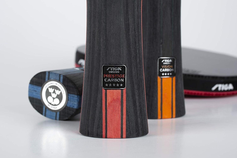 One Size Red//Black Stiga Unisex-Adult 3-Star Future tischtennisschl/äger