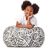 5 STARS UNITED Stuffed Animal Storage - Cover Only - 90+ Plush Toys Holder and Organizer for Boys and Girls Cotton Canvas - G