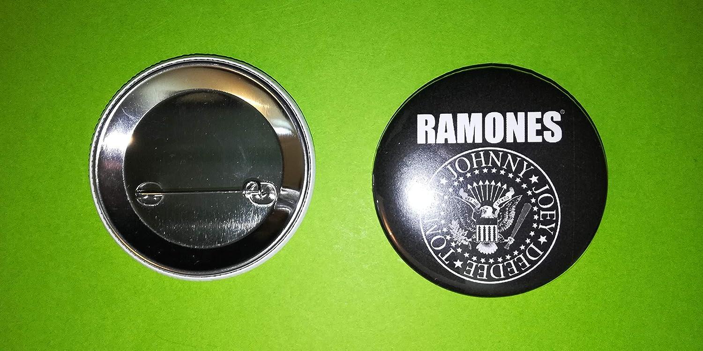 BLUE HAWAI BA1083 Transport Offert//Badge 56 MM//Neuf//Ramones Noir