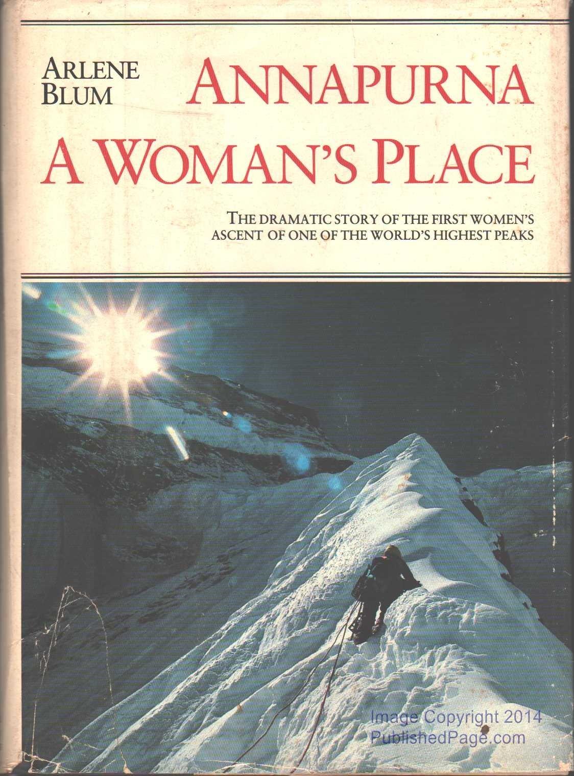 Annapurna: A Woman's Place, Blum, Arlene