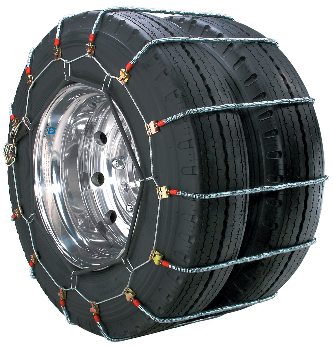 Security Chain Company TA3945 Alloy Radial Heavy Duty Truck Duals Tire Traction Chain - Pack of 1