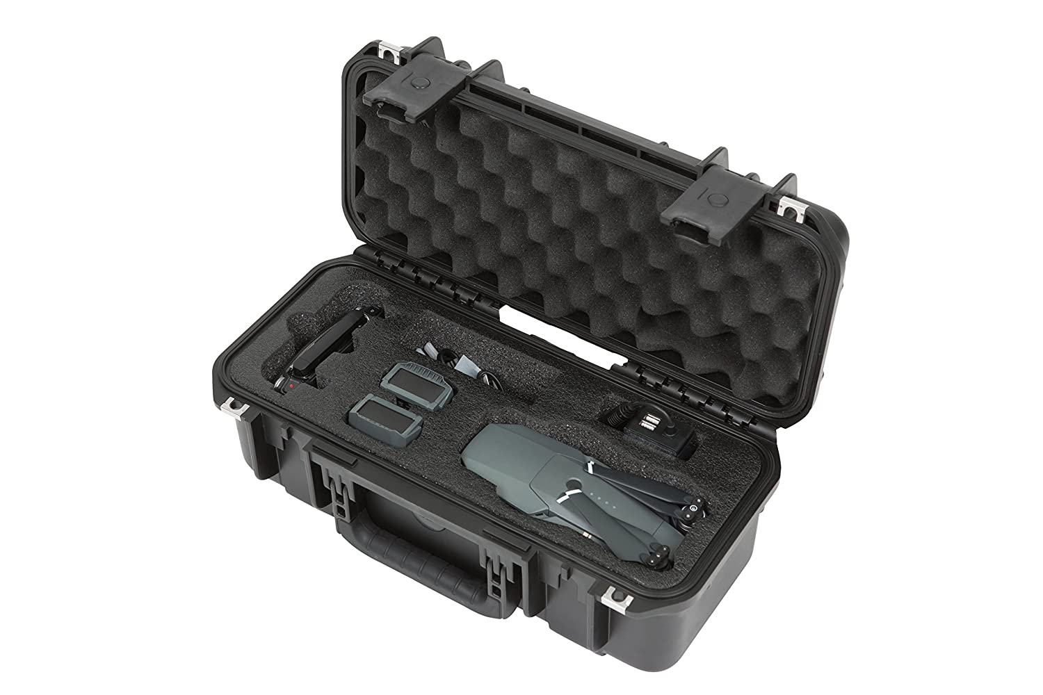SKB Cases 3i1706-6DJMV iSeries Injection Molded Waterproof Carry Case compatible with DJI Mavic Pro Drone/Quadcopter and its Accessories 3I-1706-6DJMV