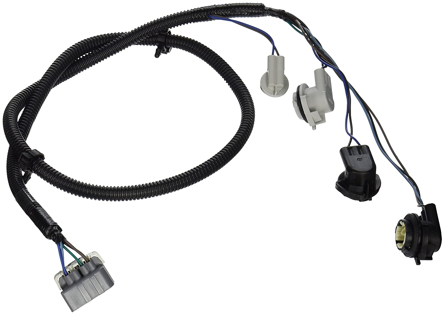 81sfkEXtmvL._SL1500_ amazon com genuine gm 16531401 tail lamp wiring harness automotive GM Turn Signal Wiring at virtualis.co