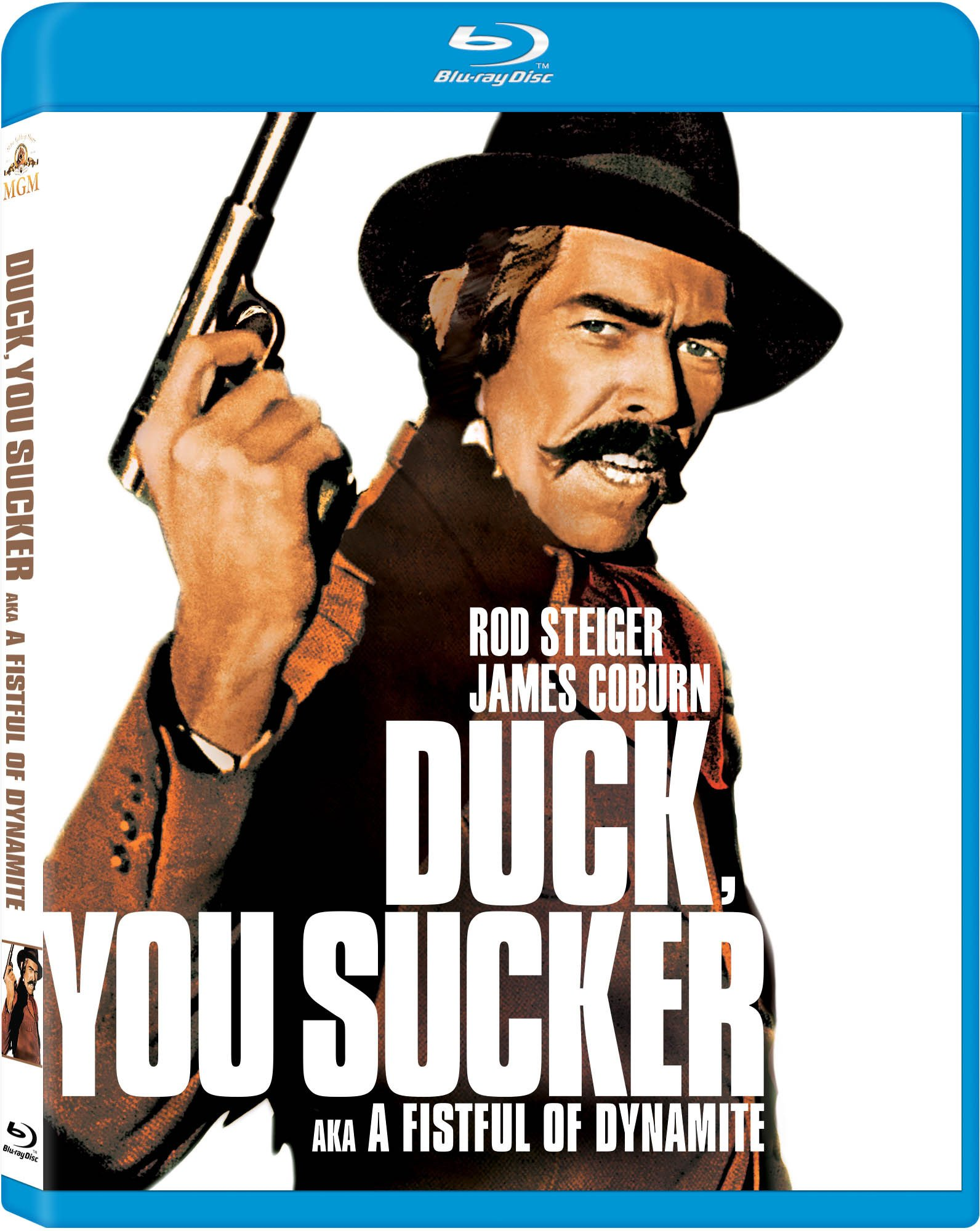 Blu-ray : Duck You Sucker Aka a Fistful of Dynamite (, Digital Theater System, AC-3, Widescreen, Dubbed)
