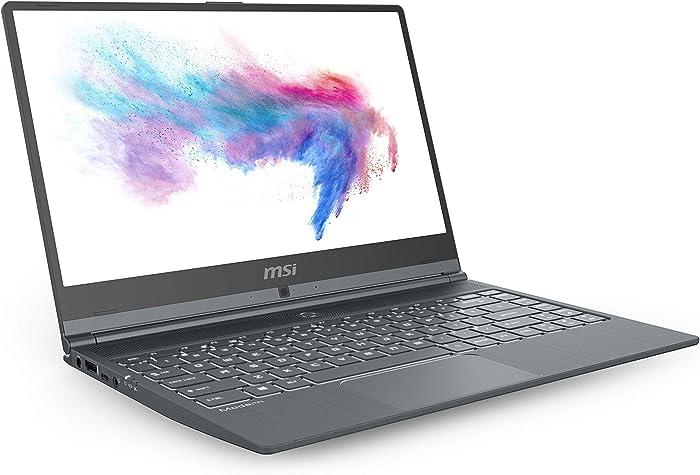 "MSI Modern 14 A10M-1029 14"" Ultra Thin and Light Professional Laptop Intel Core i5-10210U UMA 8GB DDR4 512GB NVMe SSD Win10Pro"