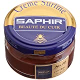 Saphir Creme Surfine Pommadier Shoe Polish - Beeswax Cream for Leather Products
