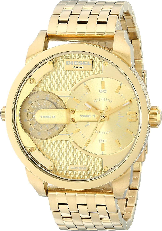 Diesel DZ7306 - Reloj de cuarzo para hombre, con correa de acero inoxidable, color dorado