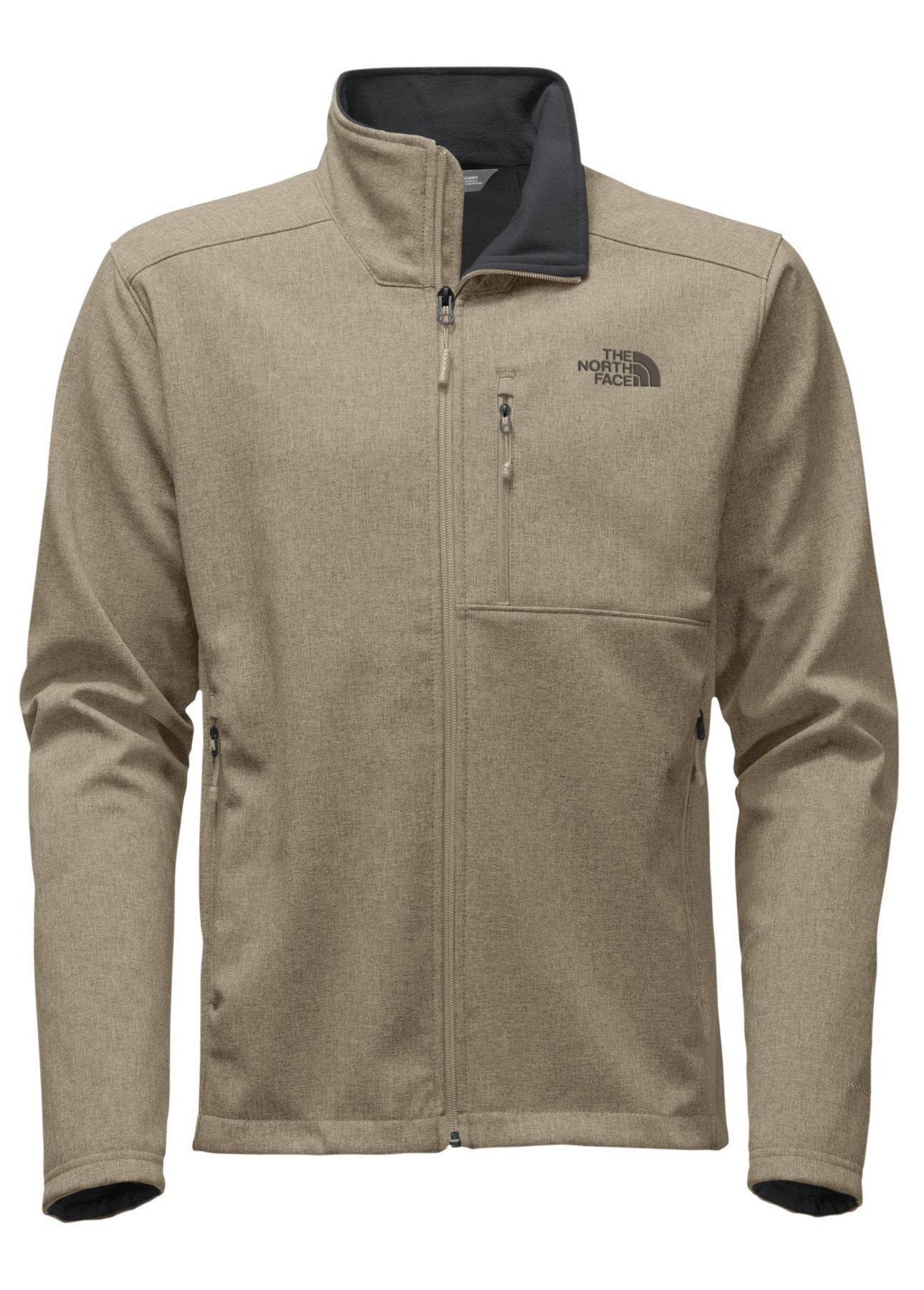 The North Face Mens Apex Bionic 2 Jacket Dune Beige Heather/Dune Beige Heather - L by The North Face