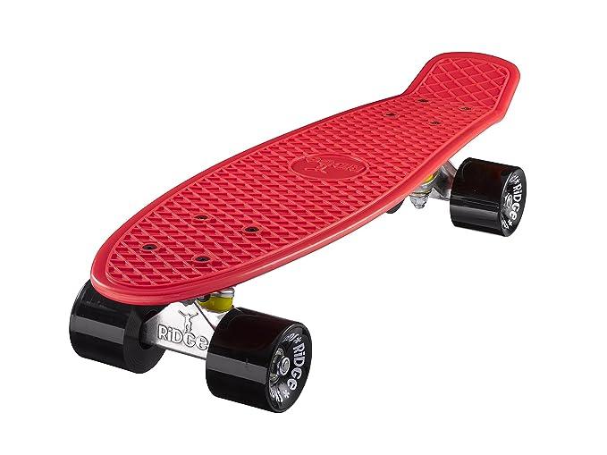 26 opinioni per Ridge Mini Cruiser Skateboard, Rosso