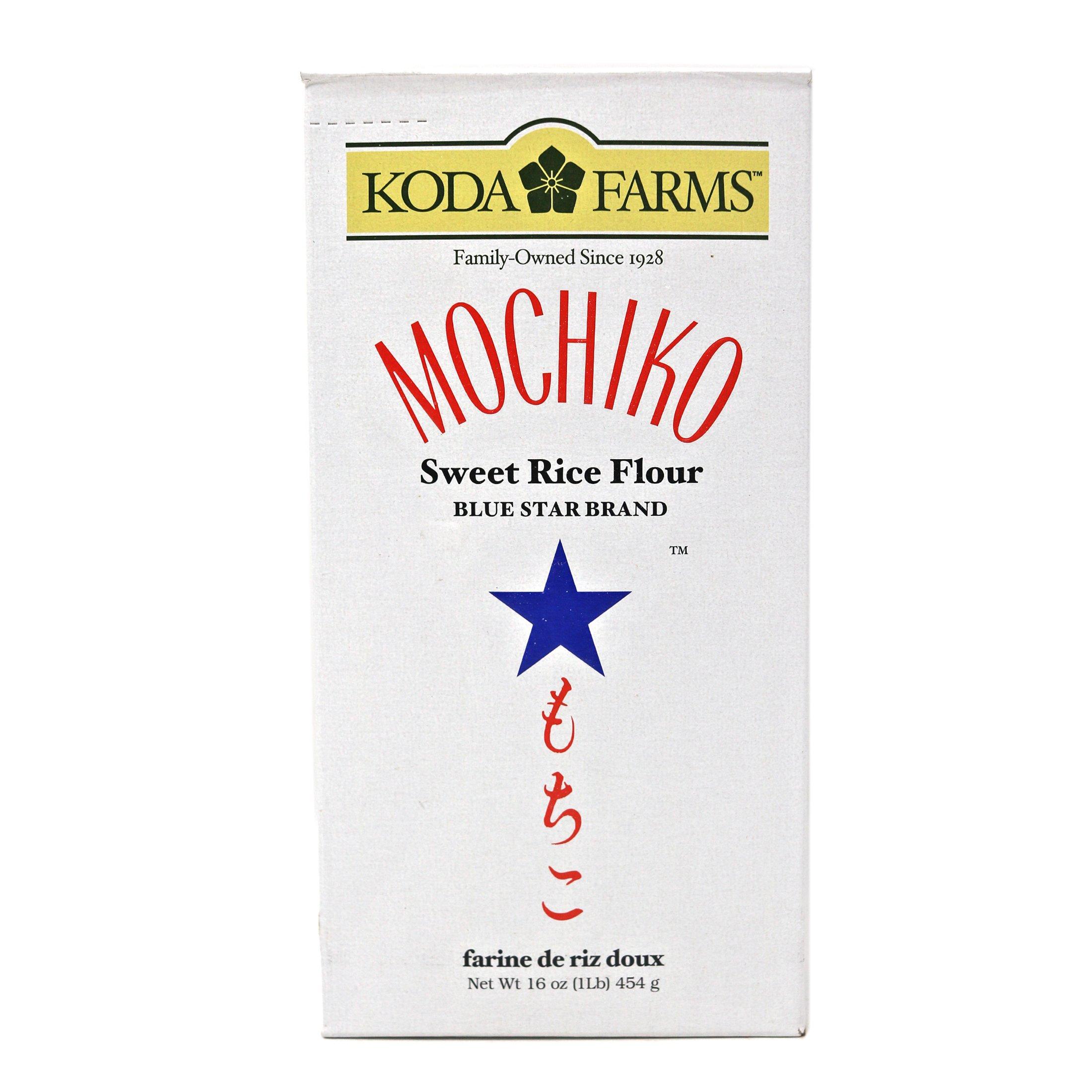 Koda Farms Mochiko Sweet Rice Flour 1 Lb (4 Pack)