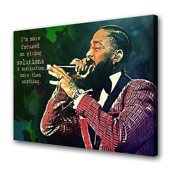 Nipsey Hussle Sky Poster Hypebeast Poster Music Poster Rap Wall Art Urban Art