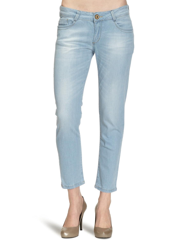 Cross Jeans Women's Skinny Trousers, Blue (Summer Bleached), 26