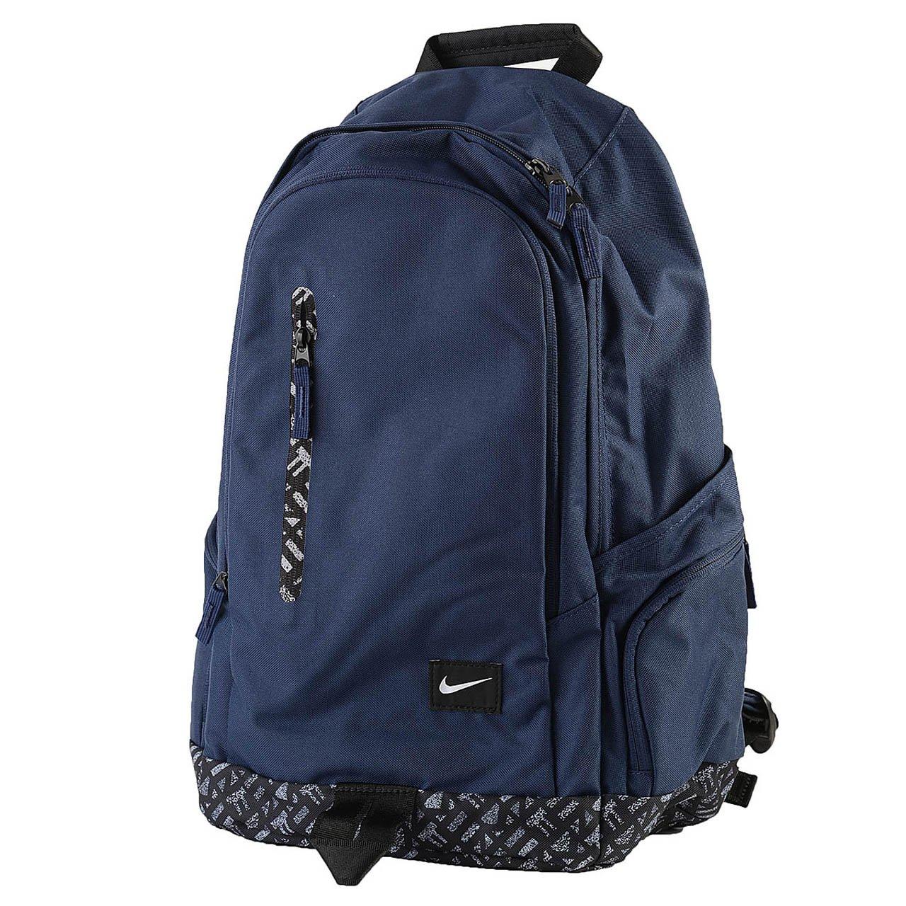 Nike All Access Fullfare - Mochila para hombre, color azul marino/negro/blanco, talla única