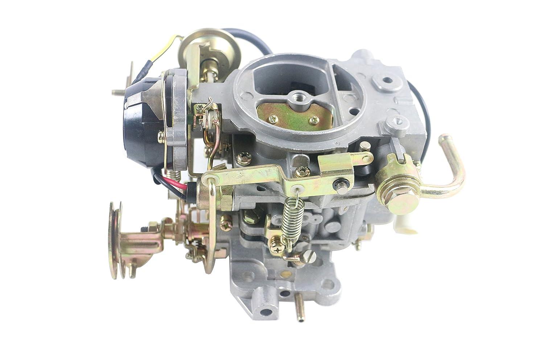 Front Carburetor Carb Fit for Isuzu Amigo 89-93 Pickup 88-94 Impulse 88-89 Trooper 86-87 2.3L 4ZD1 2 Barrel Generic
