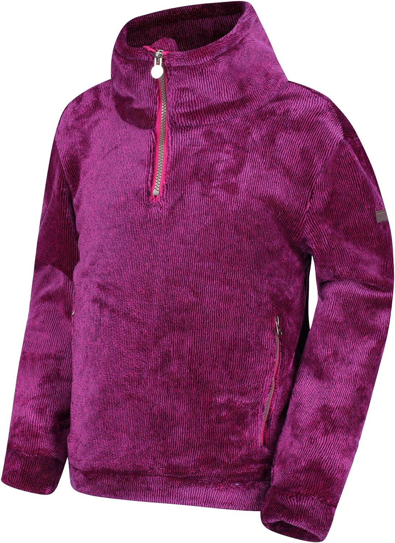 Regatta Unisex Kids Keera 3//4 Zip High Pile Fleece Fleece