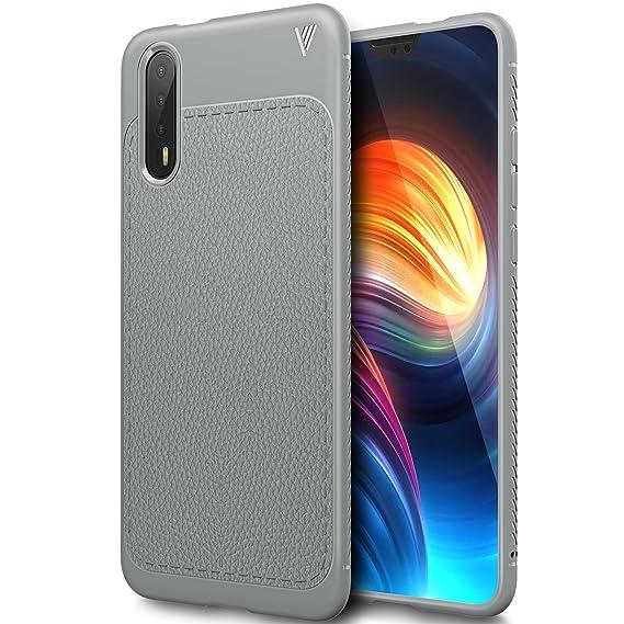 Huawei P20 case, KuGi Huawei P20 case, SS [Scratch Resistant] Premium Flexible Soft Anti Slip TPU Case for Huawei P20 smartphone(Gray)